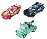 Disney Cars GPB03 - Disney•Pixar Cars Farbwechsel Fahrzeuge 3er-Pack Lightning McQueen, Hook und Bobby Swift