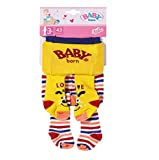 BABY born Tights 43cm, blue and striped