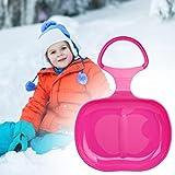 Schlitten Kinder - Schneeflitzer zum Rodeln, Kinder Flexibel Schnee Schneerutscher Schlitten Schneeflitzer Rodelteller Kunststoff, Schneerutscher für die ganze Familie (#1)
