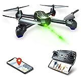 Loolinn | Drohne GPS - Drohne mit Kamera HD 1080p für Anfänger, RC Quadrocopter Drohnen FPV mit Live Übertragung / GPS Automatisch Rückkehr / 32 Min Flugzeit / Follow Me Funktion ( Zwei Batterien)