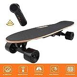 Laiozyen Longboard Elektromotor Skateboard E Skateboard, Longboard LG-Akku mit Fernbedienung, 20Km/h Skaten Cruiser Boards (Color6)