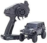 Kyosho RC Mini-Z 4X4 Mx-01 Jeep Wrangler Rubicon Granite Metallic (Kt531P)