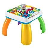 Fisher-Price HBB67 - Lernspaß Spieltisch, Musik-Spieltisch, deutsche Sprachversion, für Babys und Kleinkinder ab 6 Monaten
