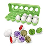 STEM Toys Dinosaurier-Spielzeug für Kinder und kleine Formen und Farben des Montessori-Spielzeugs (grün)