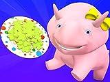 【Saint Patrick】Farben des Regenbogens / Lerne Zahlen beim Spielen mit Lego! / NBA / Mach ein lustiges Süßigkeitengesicht