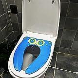Faltbarer Toilettensitz Kinder Toilettentrainer, , WC Aufsatz passend für alle Toiletten - Töpfchen-Trainer für Jungen und Mädchen von 1-7 Jahre - Toilettentrainer/Trainingssitz