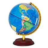 Floating Globe Student Teaching Office Display Dekoration HD Welt Geographie Unterricht Kinderglobus 10 Zoll