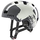 uvex Unisex Jugend Kid 3 Fahrradhelm, Rhino-Sand, 51-55 cm