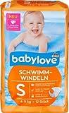 babylove Schwimm-Windeln Größe S, 4-9 kg, 1 x 12 St