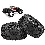 9301 1/18 Modellauto Exquisite Verarbeitung RC Truck Reifen Rad Reifen Hohe Haltbarkeit für Outdoor-Sport Spiel für Kinder Kinderspielzeug Geschenk
