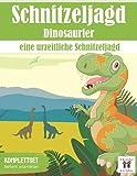 Schatzsuche Dinosaurier: Eine urzeitliche Schnitzeljagd: All incl. Dino Schatzsuche für Kinder   4-6 Jährige