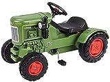 BIG - Fendt Dieselross - Kindertraktor, Spielfahrzeug mit Präzisionskettenantrieb, 3-fach verstellbarer Sitz, bis 50 kg, Fendt Lizenz, für Kinder ab 3 Jahren