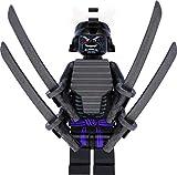 LEGO Ninjago Minifigur Lord Garmadon (Legacy) mit 4 Armen und Schwertern