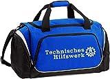 THW-Sporttasche blau mit Weiss 55 L, 62 x 32 x 30 cm