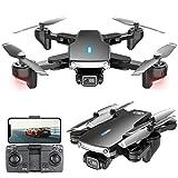 lxymyxl Drohne Mit 4K-Kamera Für Kinder, 5G WiFi FPV Live-Video, RC Quadcopter Altitude Hold, Headless-Modus, Wegpunktfunktionen, One Key Take Off Für Kinder Oder Anfänger