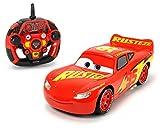 Dickie Toys RC Cars 3 Ultimate Lightning McQueen, RC Auto, ferngesteuertes Auto, mit 3-Kanal Funkfernsteuerung, Driftet in der Kurve, Donat-Drehung nach Sieg oder zur Begrüßung, 26 cm