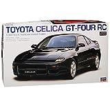 Hasegawa Toyota Celica T18 GT-Four RC Coupe Schwarz 5. Generation 1989-1994 Kit Bausatz 1/24 Modell Auto mit individiuellem Wunschkennzeichen