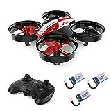 Holy Stone HS210 Mini Drohne für Kinder, RC Quadrocopter Ferngesteuert mit 3 Akkus, 21 Min. Lange Flugzeit, Automatische Höhenhaltung,360 Flip,Headless Modus Ideal für Anfänger Mädchen