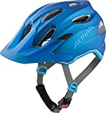 Alpina Unisex Jugend Carapax JR. Flash Fahrradhelm, True-Blue matt, 51-56 cm