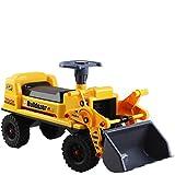 deAO Sitzbagger für Kinder-Toller Bagger-Spaẞ für Drauẞen mit Traktor BAGGER