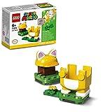 LEGO 71372 Super Mario Katzen-Mario - Anzug, Erweiterungsset, Power-Up Pack, Kletterwand-Kostüm