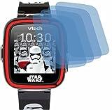 4ProTec I 4X ANTIREFLEX matt Schutzfolie für Vtech Kidizoom Starwars Stormtrooper Watch Displayschutzfolie Bildschirmschutzfolie Schutzhülle Displayschutz Displayfolie Folie