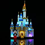YOKES LED Beleuchtungs Kit für Lego Disney Mini Schloss 40478, Upgrade LED Licht-Set Kompatibel Mit Lego 40478 Mini Castle (Lego Modell Nicht Enthalten)