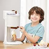 XYSQ Softeismaschine Für Zuhause - 1L - Vollautomatische Mini-Obst Dienen Gefrierkombination - Joghurt & Sorbet & Ice Cream Machine - für Home DIY Küche