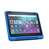 Neu: das Fire HD 10 Kids Pro-Tablet | Ab dem Grundschulalter | 25,6 cm (10,1 Zoll) großer Full-HD-Bildschirm (1080p), 32 GB, kindgerechte Hülle in Himmelblau