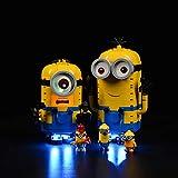 ZHLY LED Licht-Set für Lego Minions Brick-Built Minions and Their Lair Beleuchtung Lichtset Kompatibel Mit Lego 75551 Minions Brick-Built Minions and Their Lair(Lego-Modell Nicht enthalten)