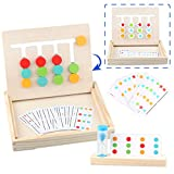 Sunarrive Montessori Spielzeug Holz Puzzle Sortierbox Lernspiele - Holzpuzzle Lernspielzeug - Sortierspiel Holzspielzeug kinderspiele - Kinderpuzzle Reisespiele - Denkspiele für Kinder ab 3 4 5 Jahre