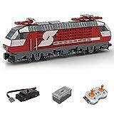 Morton3654Mam 6 Breite DB BR 1822 Inter City Express Bausteine Modell MOC-75579, 965 Teile Dynamische Zug Bausteine MOC Klemmbausteine Kompatibel mit Lego