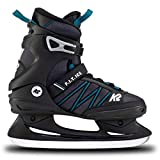 K2 Skates Herren Schlittschuhe F.I.T. Ice — Black - Blue — EU: 45 (UK: 10.5 / US: 11.5) — 25E0030