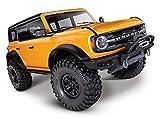 Traxxas 92076 TRX 4 Frod Bronco 4WD orange 1:10