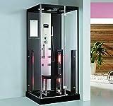 XXL Luxus LED Dampfdusche+Infrarotsauna Kombi Infrarot Sauna-Wärmekabine +Radio