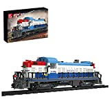 Halcyon Technik Doomsday Scene Dampfzug mit Schienen, 2399 Stück Exklusives Bauklötzchen-Sammelset, Kompatibel mit Lego