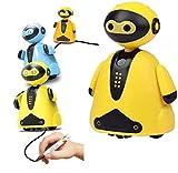 Smart Pen Tracing Robot,Magic Inductive Robot Toys,Tracer Bot Toy,Mini Magic Pen Induktives Roboterspielzeug Induktives Robotermodell Kinder (B)