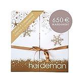 Heideman Adventskalender 2021 Frauen - Schmuck - Limited Edition - Advent Kalender Damen - Weihnachtskalender Gold