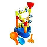TLM Toys Kinder Sand Spielsachen,sandspielzeug Set,Strand Sand Tisch Sandkasten Spielzeug,Kinderspieltisch Sandkastenspielzeug Lustiges Baby-Badespielzeug Für Kinder Ab 3
