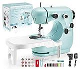LDALAX Nähmaschine Anfänger für Kinder, Tragbare Nähmaschine mit Fußpedal DIY Materialien elektrische Haushalt Nähen Werkzeug, für Haushalte, Anfänger, Kinder, Mädchen