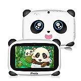 Tablet für Kinder, iProda Kids Tablet, 7-Zoll-HD-Display Android 9.0 Kinder Pad, 4000 mAh, Panda Toddler Tablet mit 2 GB RAM und 16 GB ROM, Lernspiele, Kindersicherung, bestes Weihnachtsgeschenk