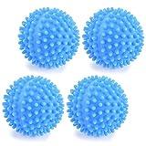 OPIBA Wiederverwendbare Wäscherei Bälle Wäschetrockner Waschkugel Wäscherei Trocknen Ball für Zuhause Umweltfreundliche Kleidung Reinigung (Color : Blue)