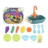 Elektrisch Matschküche Kinder Outdoor-Kinderküche Zubehör Kinderwaschbecken-Kinderwaschbecken Fuer Die Badewanne Spielzeug-Für Geschenke zur Kindererziehung