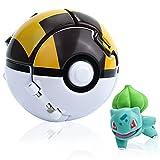 Poké Ball, Pokebälle mit figuren, Pokemon ball, Minifiguren für Kinder und Erwachsene Party Feier Spaß Spielzeug Spiel Geschenk