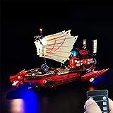 FADF Licht LED Beleuchtung Set für Lego Ninjago Destinys Bounty 71705 - Nicht Enthalten Lego Modell