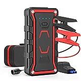 20000mAh Starthilfe Notfall Jump Starter Batterie Power Bank Auto Booster Spitzen 1600A für Alle Gas und 7L Diesel