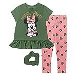 Disney Minnie Mouse Toddler Girls Ruffled T-Shirt & Legging Set 5T