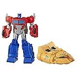 Transformers Spielzeuge Cyberverse Spark Armor Ark Power Optimus Prime, 30 cm. große Actionfigur, ab 6 Jahren