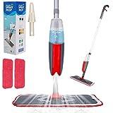 Aiglam Sprühwischer,300ML Bodenwischer mit Sprühfunktion für schnelle Reinigung, Spray Mop mit...
