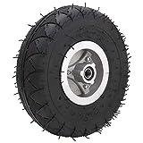 Wosune Elektroroller-Reifen, starker Griff Roller-Reifen-Ersatzgummireifen für elektrische Dreiräder für Trolleys für Rasenmäher